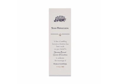 Charity Bookmark