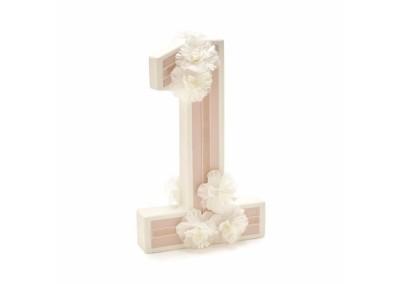 Floral 3D Number