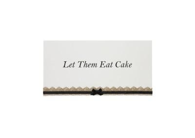 Vintage Lace Cake Sign