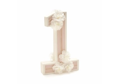 Floral 3D Table Number