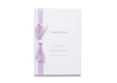 Raffia Booklet Invitation