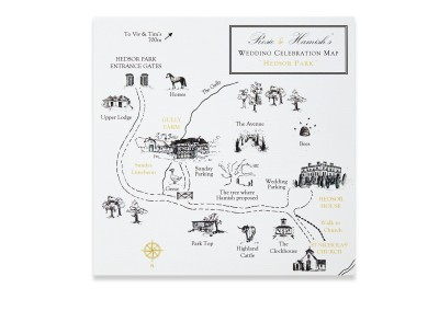Illustrated Guest Map