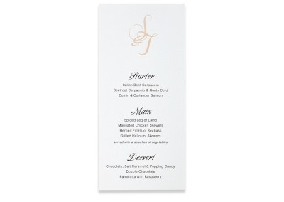 Letterpress Bookmark menu