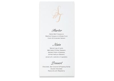 Letterpress Bookmark menu