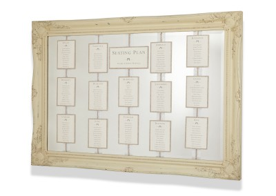 Luxe Mirror Seating Plan