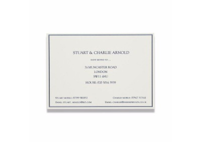 Change of Address Card