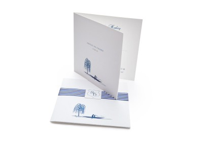 Personalised Silhouette Pocketfold