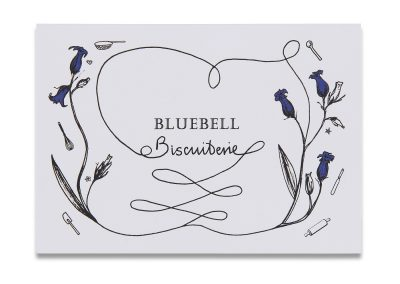 Bluebells Correspondence Card