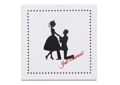 1950's Silhouette Thank You