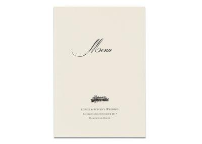 Classic Menu Booklet