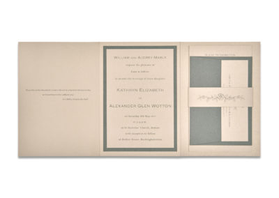 Tri-fold Luxury Invite